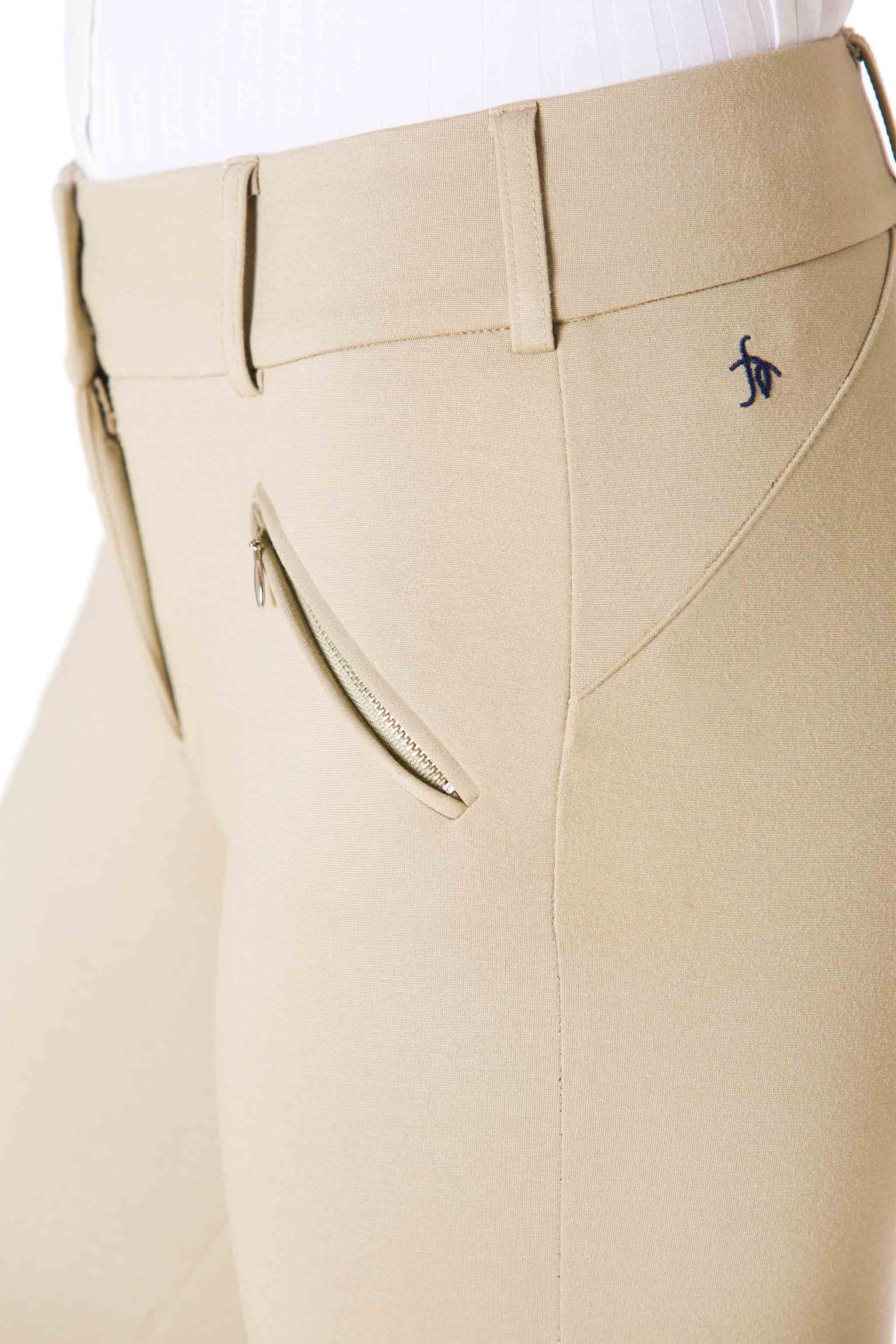 Tan-The Signature Ponte Riding Pant