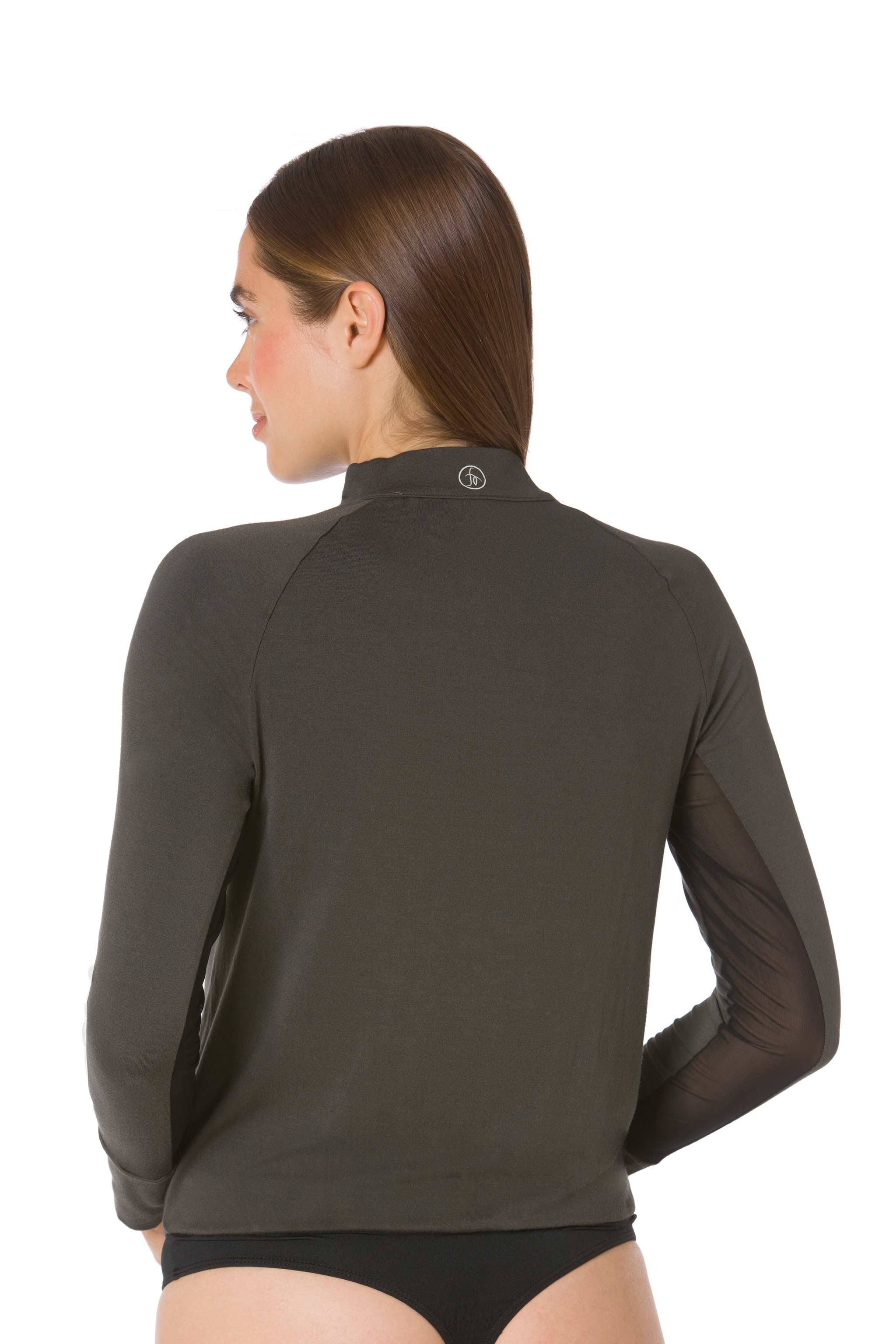 Forest | Black-The Moto Equestrian Bodysuit