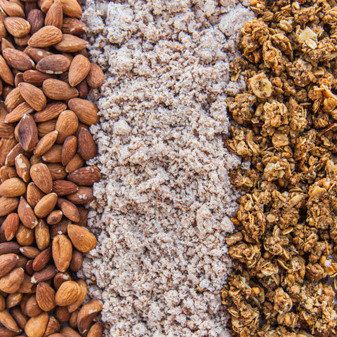SOULMUCH Upcycled Almond Pulp and Granola