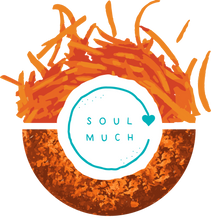 Load image into Gallery viewer, Carrot Cake cookie with SOULMUCH logo in the center