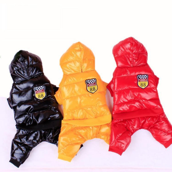 Durable & Warm Waterproof Dog Coat
