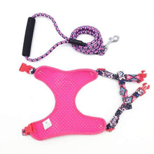 Load image into Gallery viewer, Funky Fashion Pet Dog Harness & Leash
