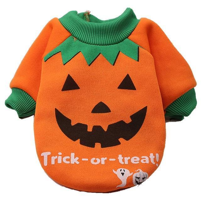 Halloween Pumpkin Suit: as picture / XS