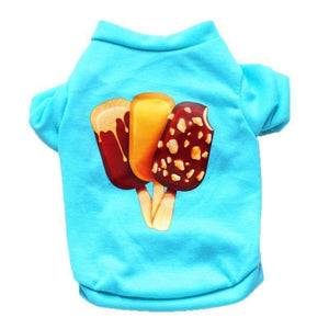 Ice Cream Puppy Cotton Sweater