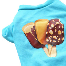 Load image into Gallery viewer, Ice Cream Puppy Cotton Sweater