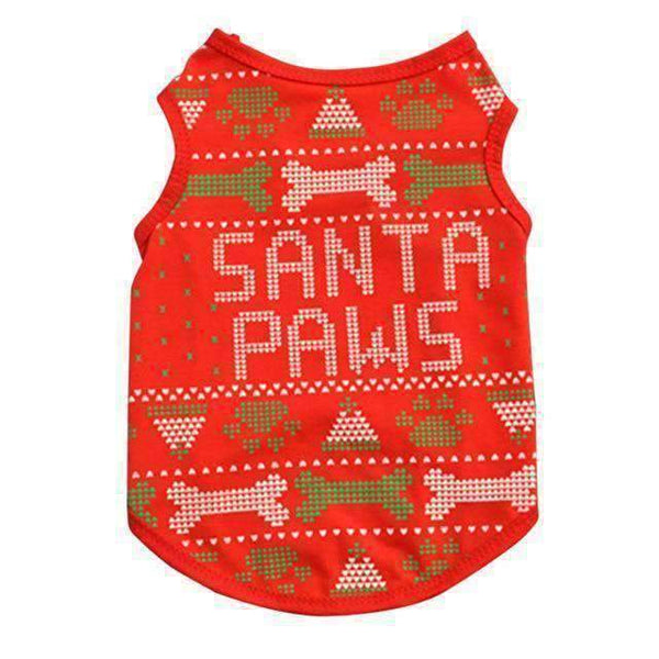 Pawz Dog Christmas Costume: 1 / L