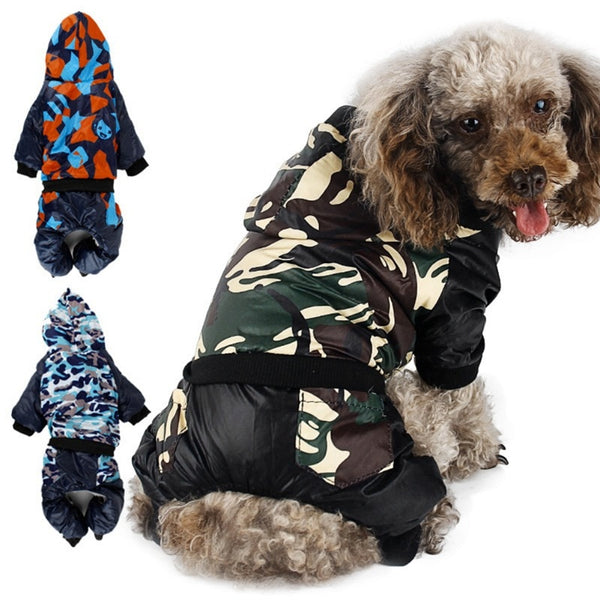 Waterproof Camouflage Dog Coat