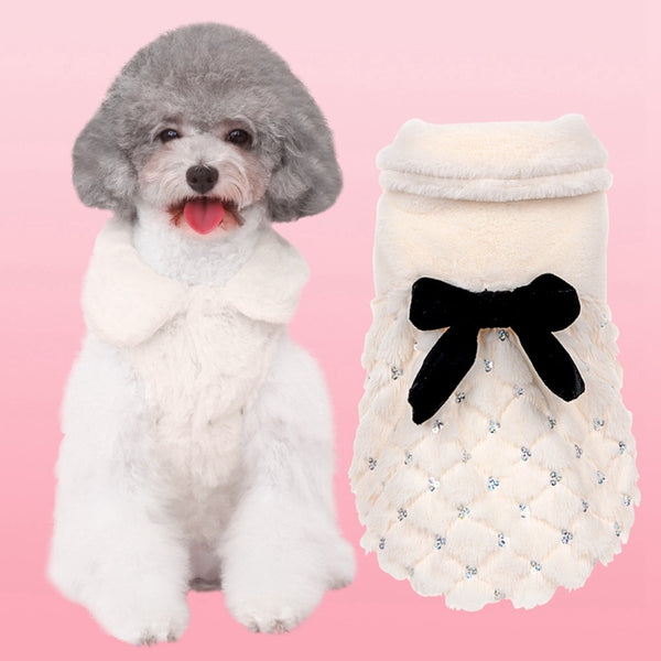 Luxury Faux Dog Coat