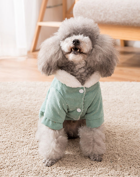 Fashion Dog Cotton Coat