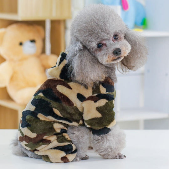 Camo Dog Jumpsuit