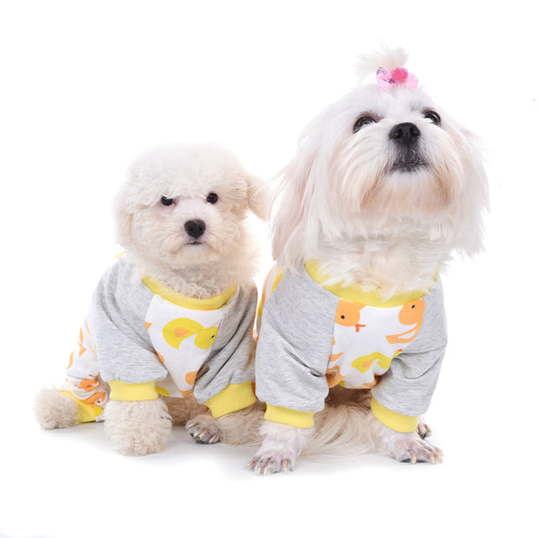 Cute Duck Dog Pajamas