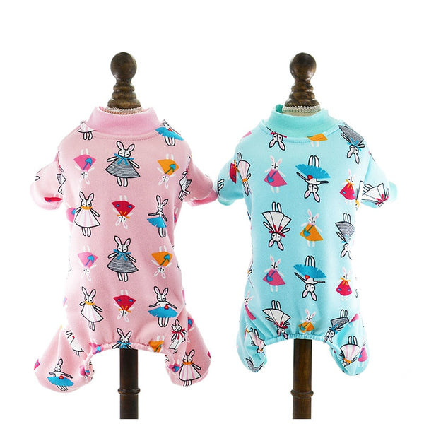 Cute Rabbit Dog Pajamas