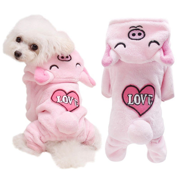 Lovely Animal Hooded Pajamas