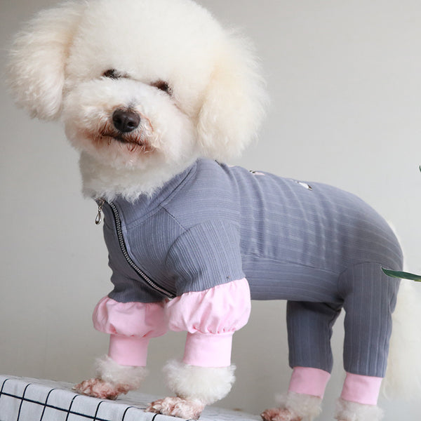 Long Sleeve Thin Dog Jumpsuit