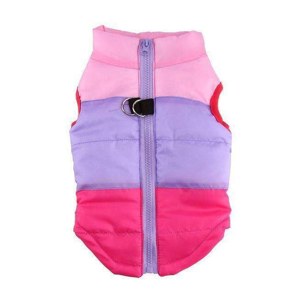 Puffy Waterproof Winter Vest: Mixed 3 / L