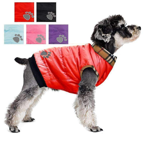 Thick Cotton Padded Dog Vest