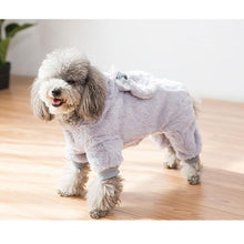Load image into Gallery viewer, Warm Fleece Bunny Dog Hoodie
