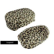 Load image into Gallery viewer, Warm Winter Dog Bed: gold leopard / 51x38x14cm