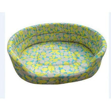 Load image into Gallery viewer, Warm Winter Dog Bed: green / 51x38x14cm