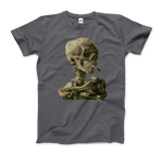 Van Gogh Skull of a Skeleton With Burning Cigarette 1886 T-Shirt