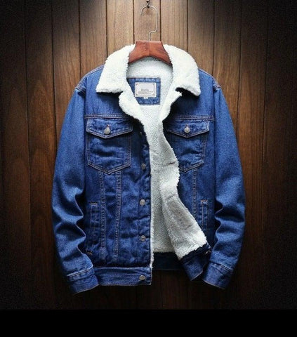 Chu Mark Lambswool Jeans Jacket