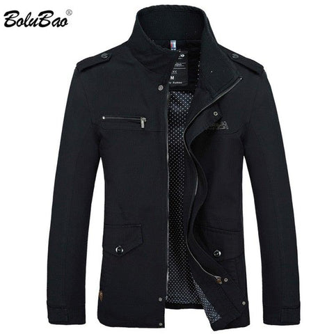 Warm Cotton-Padded Men  Zipper Jacket