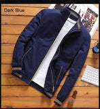 Men's Bomber Stand Collar Jackets