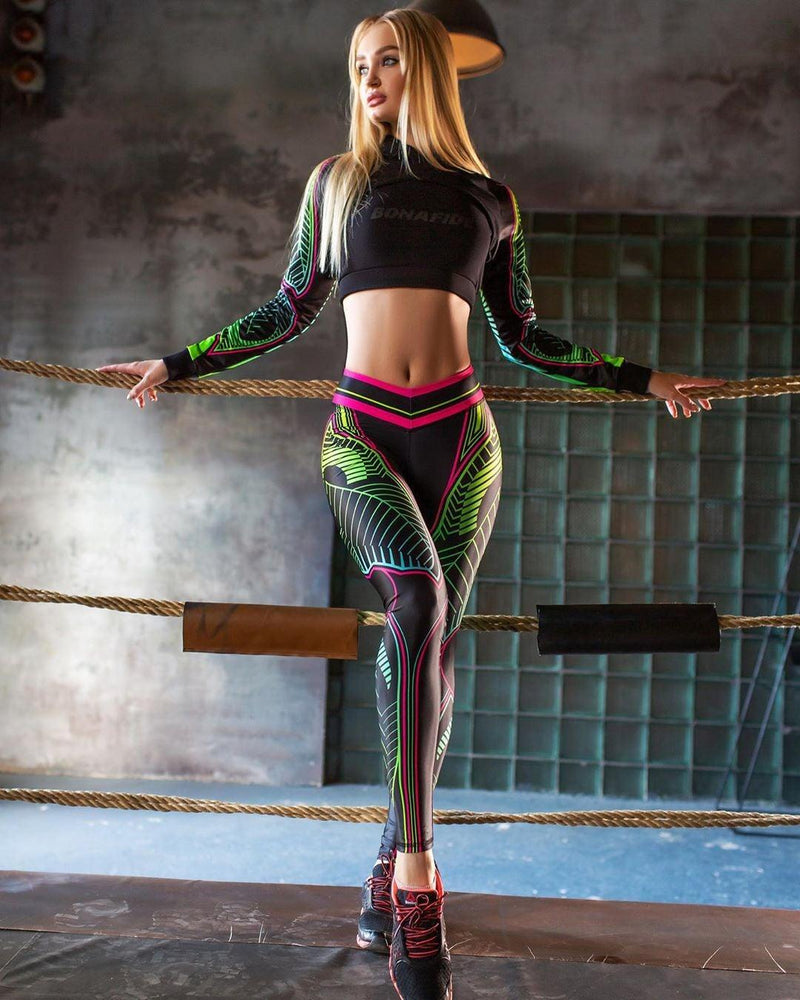 Sexy Waist Slim High Stretch Leggings