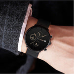 Elegant Sport Stainless Steel Mesh Watch for Men