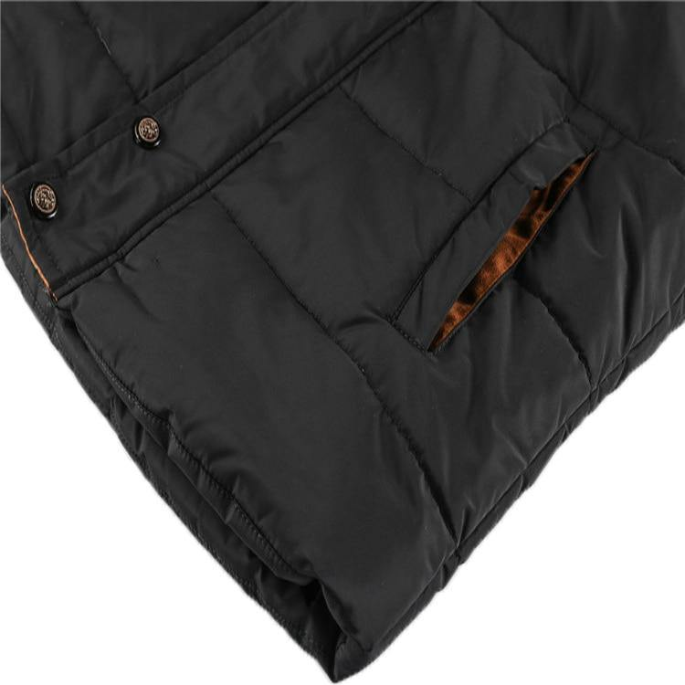 Mountainskin Warm Cotton Padded Outwear Jacket for Man