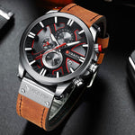 Masculine Fashion Quartz Watch for Men