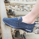 Denim Plimsoll Canvas Men Shoes