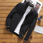 Streetwear Pilot Bomber Jacket Overcoat for Men