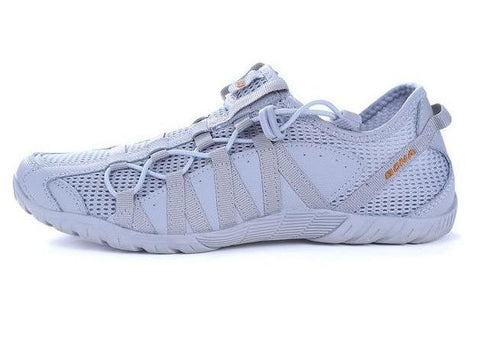 Air Mesh Athletic Lace Up Trainers Shoes