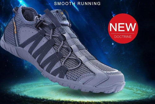 Air Mesh Athletic  Slip On Trainer Shoes