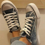 GoSkater Breathable Jeans Sneakers for Women