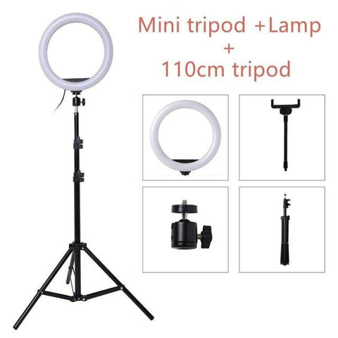 "10"" O-Ring Light with Tripod"