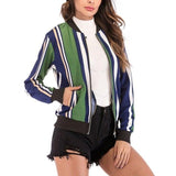 French Retro Zipper Coat Jacket