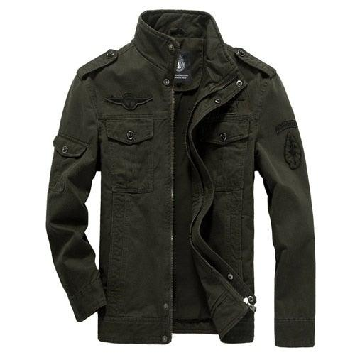 Military Jacket Mens Bomber Jacket