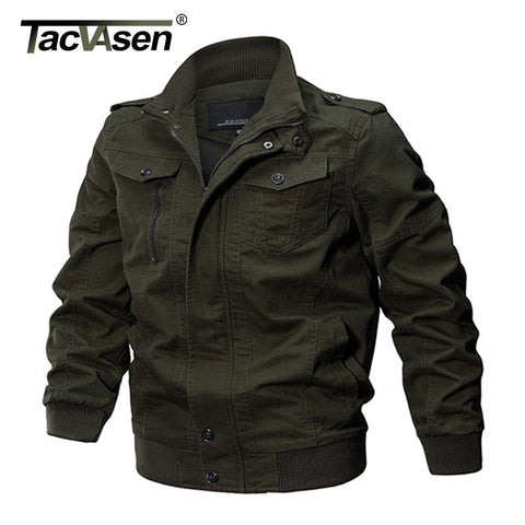 TACVASEN Men's Winter Bomber Jacket