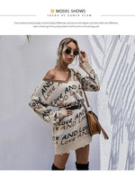 LOVE and LOVE Sweater Dress