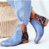 Ladies Butterfly-knot Chelsea Boots
