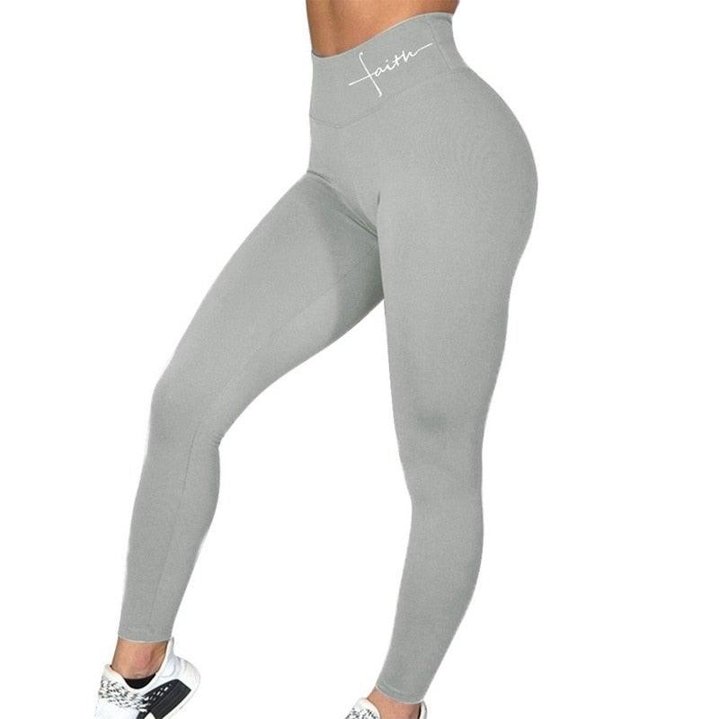 New Sexy Gym Elastic Comprehension Jogger Leggings