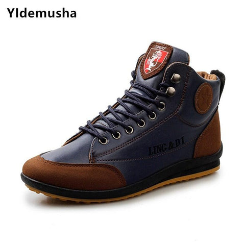 "Men's ""Ferrari"" Warm Ankle Boots"