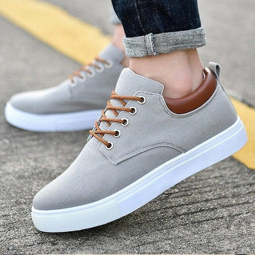 Spring Casual Men's Canvas Shoes