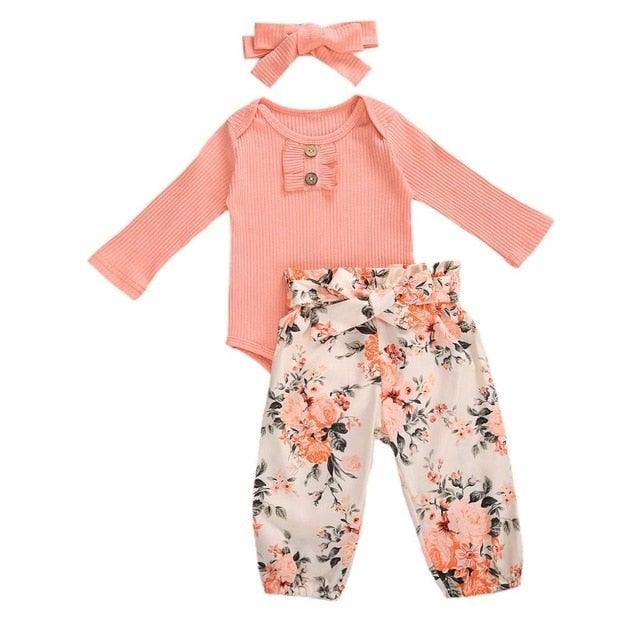 RetroBaby Girls 3pc Set