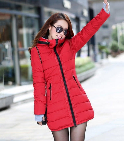 Winter Hooded Essential Jacket