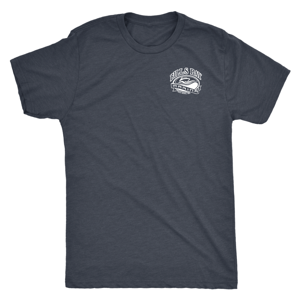 Two Screws are Better than One Bill's Bay Men's Triblend T-Shirt, Multiple Colors - Nauti Details