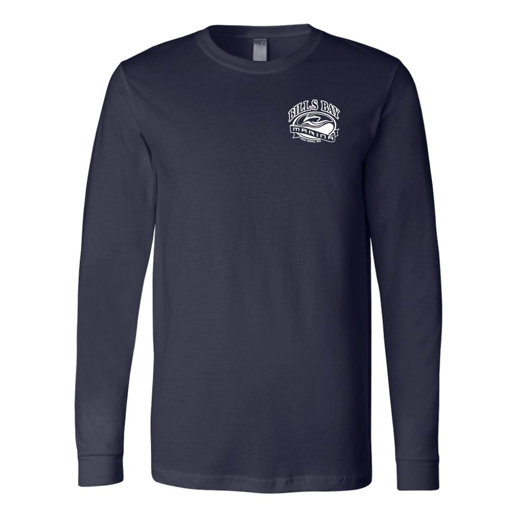 "Bill's Bay 'Nauti Yachty"" Unisex Long Sleeve T-Shirt - Nauti Details"