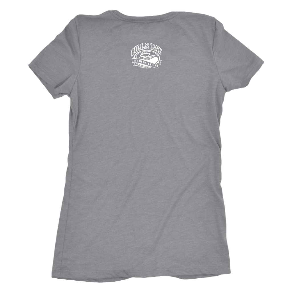 Nauti Yachty at Bill's Bay Women's Triblend T-Shirt, Available in 5 Colors - Nauti Details